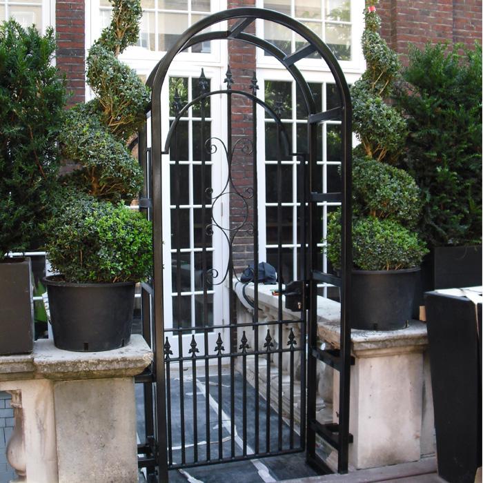 Rear Garden Arched Gate