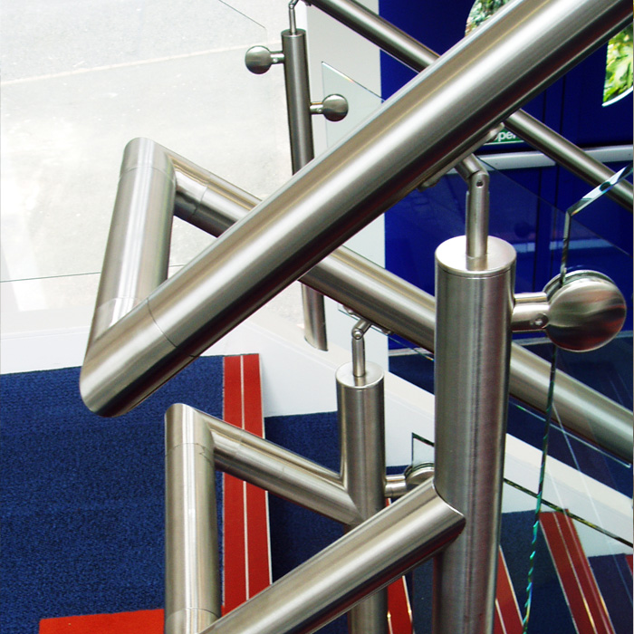 Commercial Stainless Steel Balustrades