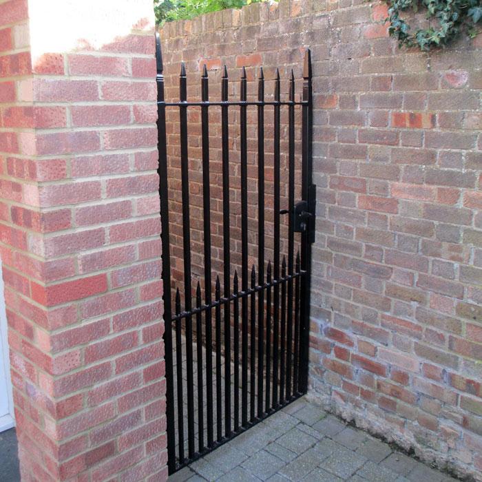 Modern style heavy duty side gates